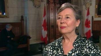 La députée bloquiste de La Pointe-de-l'Île, Francine Lalonde