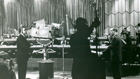 Inauguration de la station CBWFT le 24 avril 1960