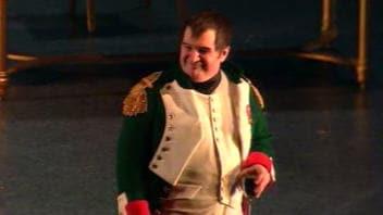 Benoît Brière incarne Napoléon dans «Une partie avec l'Empereur».