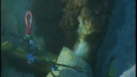 BP a diffusé cette semaine des premières images de la fuite de pétrole.