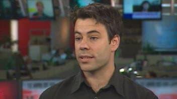 Ugo Lapointe, de la coalition «Pour que le Québec ait meilleure mine»
