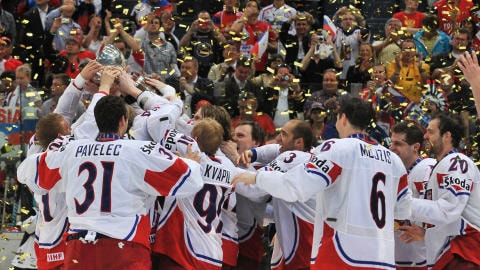 L'équipe de la République Tchèque