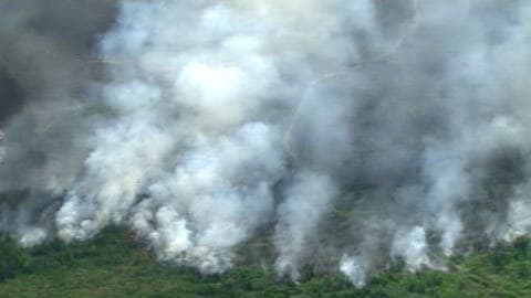Incendies en Haute-Mauricie