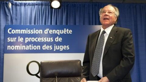 Le juge Michel Bastarache