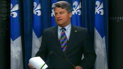 Gérard Deltell, chef de l'Action démocratique du Québec