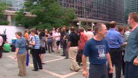 Évacuation à Ottawa lors du séisme de 5