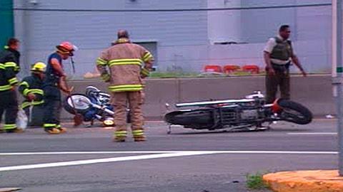 L'accident survenu à Candiac.