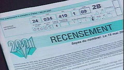 Un formulaire de recensement