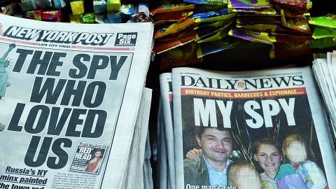 La une de nombreux journaux américains est consacrée à cette affaire d'espionnage