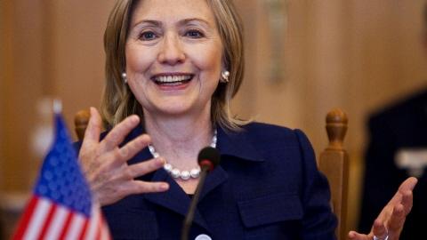 La secrétaire d'État américaine Hillary Clinton