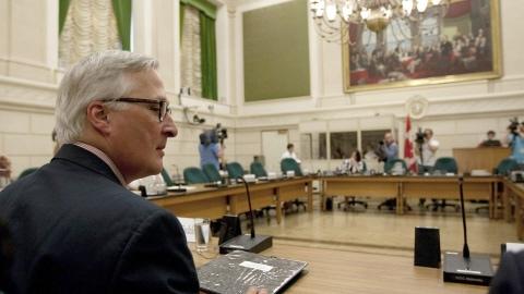Richard Fadden a témoigné devant le comité de la sécurité nationale et de la sécurité publique.