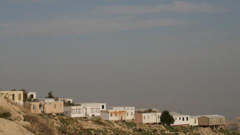 La colonie israélienne de Kfar Adumim située entre Jérusalem et Jéricho