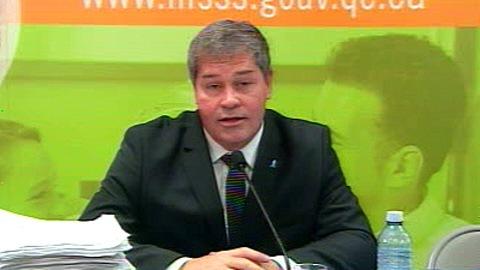 Yves Bolduc, ministre de la Santé et des Services sociaux du Québec