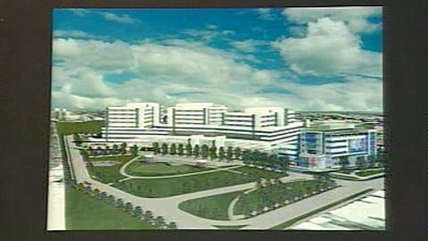Dévoilement des plans préliminaires du nouvel hôpital des Shriners qui sera construit sur le Campus Glen