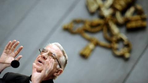 Le porte-parole du Vatican, le père Federico Lombardi
