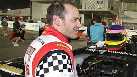 Jacques Villeneuve en Speedcar