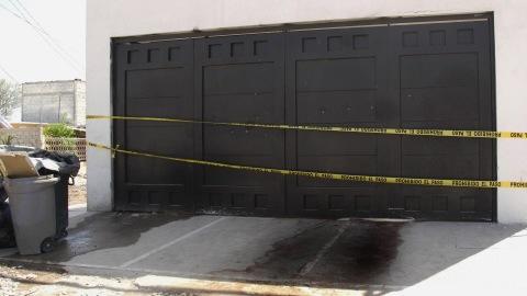 Les lieux de la fusillade qui a causé la mort de 17 personnes à Torreon.