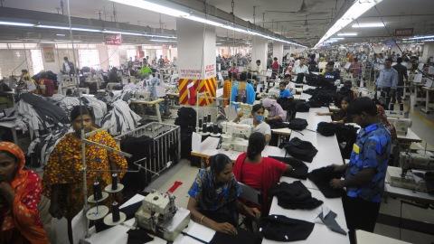 Une usine textile au Bangladesh
