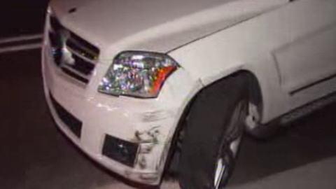 La voiture de Daniel Séguin impliquée dans l'accident
