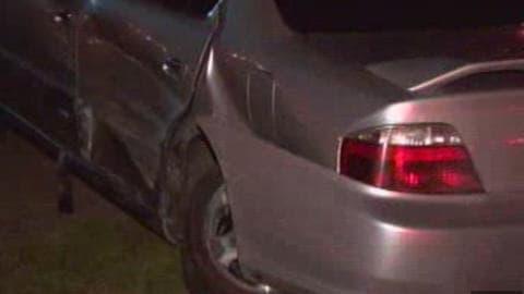 Daniel Séguin a frappé cette voiture conduite par une femme enceinte