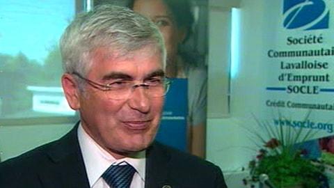 Clément Gignac, ministre du Développement économique, de l'Innovation et de l'Exportation