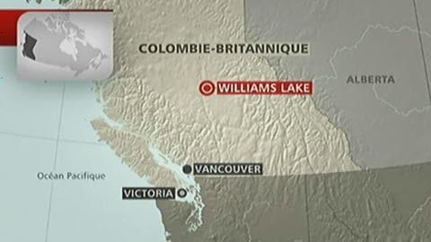 Carte de la Colombie-Britannique