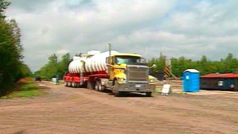 Camion de Talisman Energy