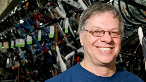 Sylvain Lalonde, copropriétaire de Pignons sur roues