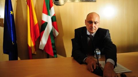 Le ministre de l'Intérieur régional basque Rodolfo Ares