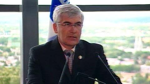 Le ministre Clément Gignac