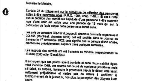 Extrait d'une lettre d'Huguette Saint-Louis