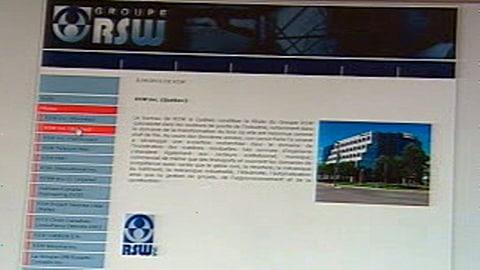 Le site du groupe RSW