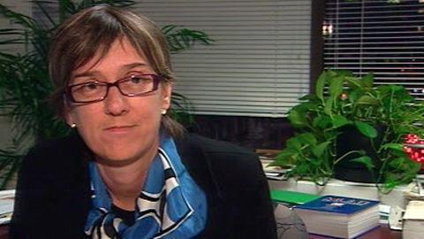 Carole Beaulieu, rédactrice en chef et éditrice de <em>L'actualité</em>