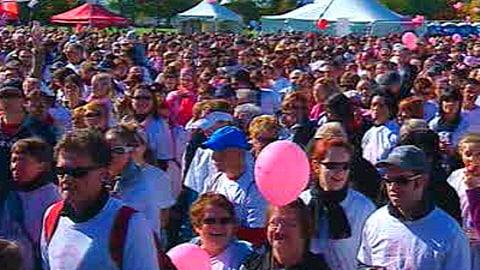 marche pour le cancer du sein