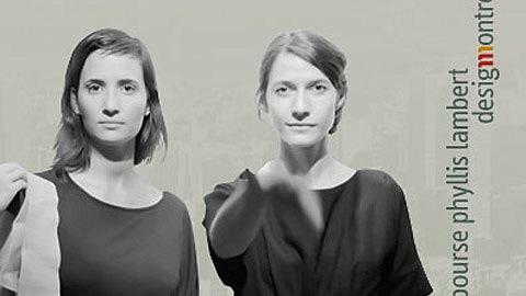 Les lauréates de la bourse Mouna Andraos et Melissa Mongiat