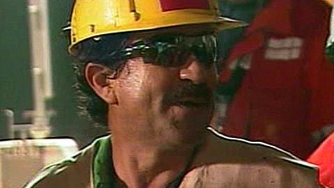 Juan Andrés Illanes, troisième mineur chilien à sortir