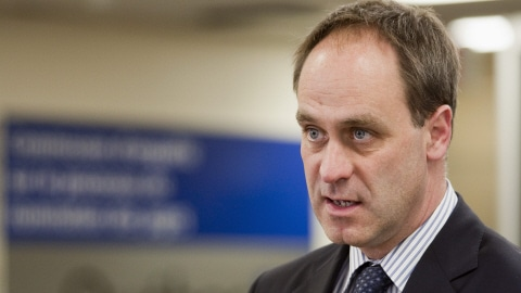 L'avocat du premier ministre Charest, Me André Ryan