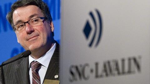 Le PDG de SNC-Lavalin, Pierre Duhaime