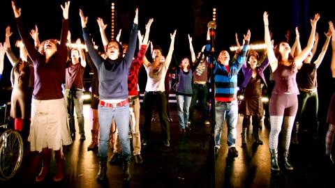 Scène de «Chante avec moi»