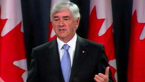 Lawrence Cannon, ministre des Affaires étrangères du Canada