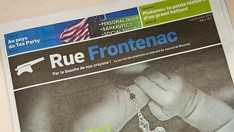 Le nouvel hebdomadaire Rue Frontenac