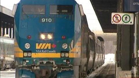 Train de Via Rail