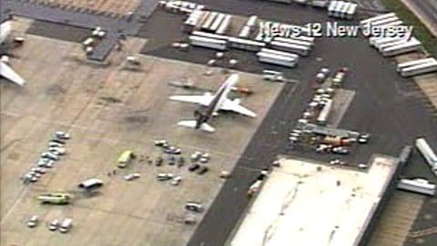 Un avion d'UPS a été immobilisé à l'aéroport Newark de New Jersey