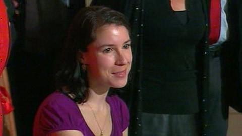 Perrine Leblanc, lauréate du Grand Prix du livre de Montréal 2010