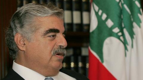 Rafic Hariri en septembre 2004