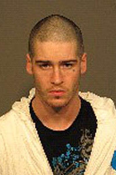 Dave Saint-Michel, 23 ans, accusé relativement à l'incendie criminel du Café Danesi.