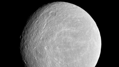 La lune Rhéa