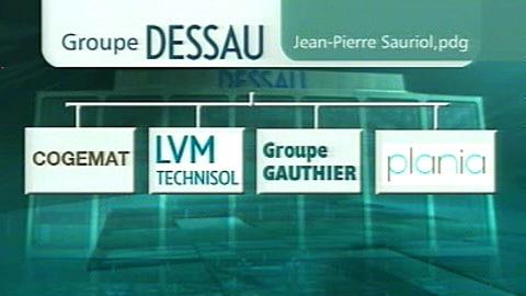 Le groupe Dessau et ses filiales.