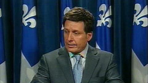 Pierre Moreau, député libéral et whip du gouvernement