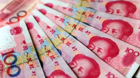 Des yuans de Chine